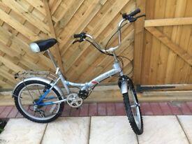 Challenge Gauntlet folding bike