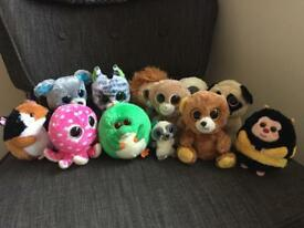 Collection of TY Beanie Boos