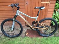 Giant Yukon FX2 full suspension mountain bike in excellent condition £300