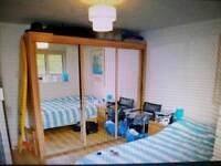 Kingsize Wood bed frame for sale