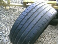 ONE,CONTINENTAL,215/40/17 TYRE,GOOD TREAD,EXTRA LOAD TYRE,GOOD CONDITION, £15