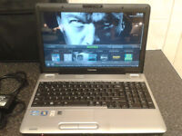 TOSHIBA SATELLITE L500 (QUAD-CORE) 2.133GHZ X4 WIN 7 ULTIMATE 320GB HDD HDMI 4GB RAM WITH CHARGER