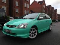 Honda civic type r *one off* mint green *REDUCED* ep3 fn2 gt not m3 bmw ep2 ek ej ep3 civic