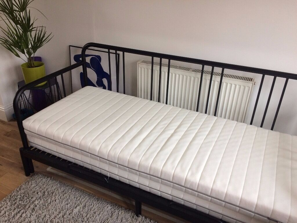 ikea fyresdal day bed pulls out into double bed in stretford