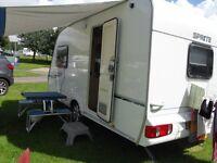 sprite alpine two berth touring caravan 2007