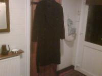 cashmere/ wool full length coat by luigi lazzari