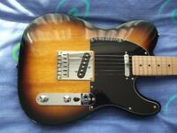 Fender Squier Telecaster Affinity Series Electric Guitar in Excellent Condition