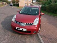 2007 Nissan Note 1.6 16v Acenta 5dr Manual @07445775115