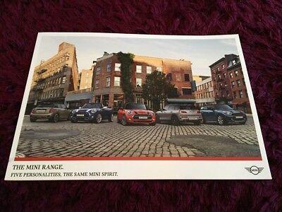Mini range Brochure 2018 - UK Spril 2018 Issue - Hatch, Countryman, Convertible