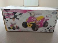 Pink electric Quad bike unopened in box
