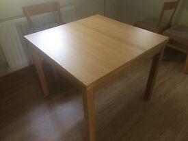 Ikea Bjursta Extending dining table unused