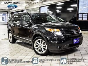 2013 Ford Explorer Limited, Navigation, Moonroof, Premium Leathe