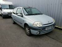 2000 Renault Clio 1.4 S mot August 2017 £250 NO OFFERS