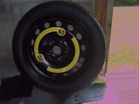 vw space saver spare wheel like new