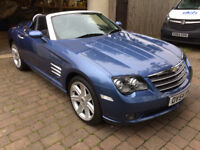Chrysler Crossfire convertible 38000miles 54reg new mot service history 6speed manual fantastic cond