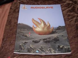 AUDIOSLAVE - 2002 guitar TAB music book 15 numbers heavy rock metal Hal Leonard