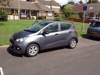 Hyundai i10 1.0 Blue Drive S 5dr only 475 Miles !! less than 5 hours running !!
