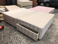 **NOW GONE** Double Bed and single bed bases for free