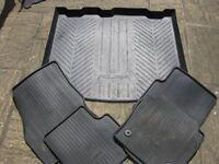 Ford Kuga Boot liner and mats