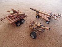 Bullet constructed models