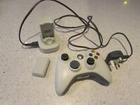 Xbox 360 wireless controller and dual battery