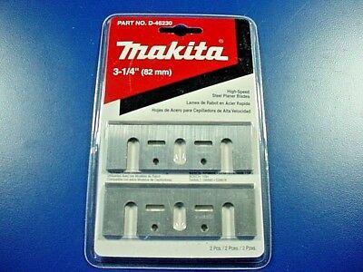 "Makita D-46230 High Speed Steel Planer Blades 3 -1/4"" (82mm)"