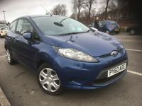 60 FORD FIESTA 1.4 TDCI EDGE 3DR BLUE MET DRIVES AND LOOKS GREAT 20 PER YEAR TAX