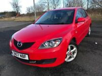 07 MAZDA 3 TS 1.6 5 DOOR IMMACULATE WAS £1999 NOW ONLY £1699
