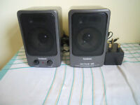 amplified speakers