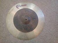 Bosphorus Versa Drum Cymbals x 4 - Ride, Crash, Hi-hats, Flat Ride