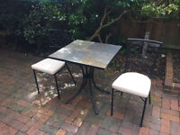 John Lewis Garden table and chairs £25