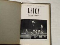 Vintage 5 pre-war Leica News annual 1935 - 1938