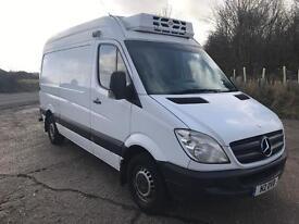 Mercedes Sprinter 313 MWB Fridge Van Temperature Controlled overnight Standby 1 Owner ! NO VAT!!!