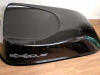 Exodus black gloss 470l roof box