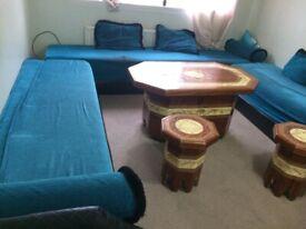 Morocco sofá nd tables