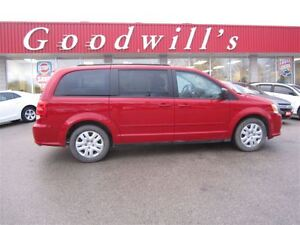 2015 Dodge Grand Caravan SXT! BLUETOOTH! DVD PLAYER!
