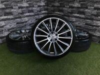 "19"" Merc C Class W205 ALUFELGI Style AMG REPLICA MERCEDES Alloy Wheels Tyres"