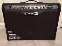 """Amplifier.. Line 6 Spider iii. 120 Watt with 2 x 10"""" Celestion speakers"""