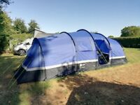 Hi Gear ZENOBIA 6 Person/ Man / Family Tent with 2 Bedrooms