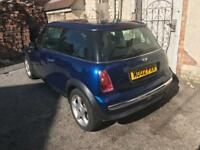 Mini Cooper one breaking for spares parts blue 03 04 05