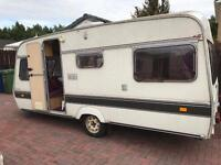 Lunar kamara 4 berth caravan with full awaning nice van £695