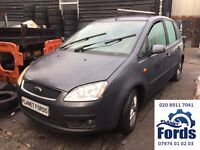 Ford Focus C-Max Fiesta Ka Fusion Mondeo Kuga S-Max Galaxy Transit Connect Parts in stock Available