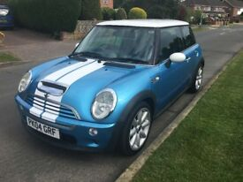 Blue Mini Cooper S 1.6 Petrol
