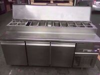 CATERING CANTEEN BUFFET KITCHEN RESTAURANT SALAD BAR DINER CAFE TOPPING CATERING FRIDGE COMMERCIAL