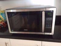 *Modern* Kenwood 900w / 25l Stainless Steel Microwave