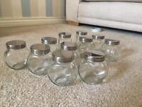 Glass jars - perfect for weddings!