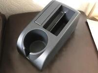 VW Golf Arm Rest Plastic Interior Handbrake Cup Holder Compartment