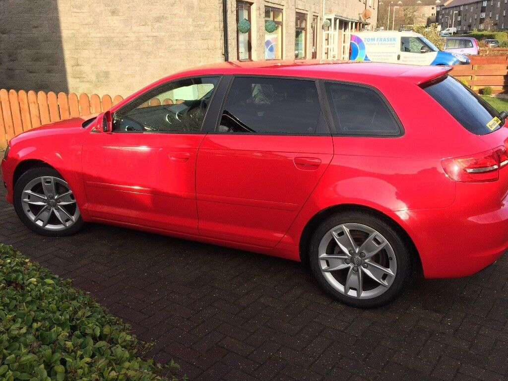 AUDI A3 1.6 TDI SPORT HATCHBACK LOW MILAGE AND ONLY £20 ROAD TAX.