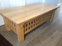 Oak Coffee Table - Pre-loved