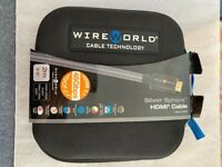 Wireworld Silver Sphere 48G Hdmi Cable 2 Metres Brand new £200